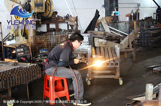 é'¢材焊接加å・¥02